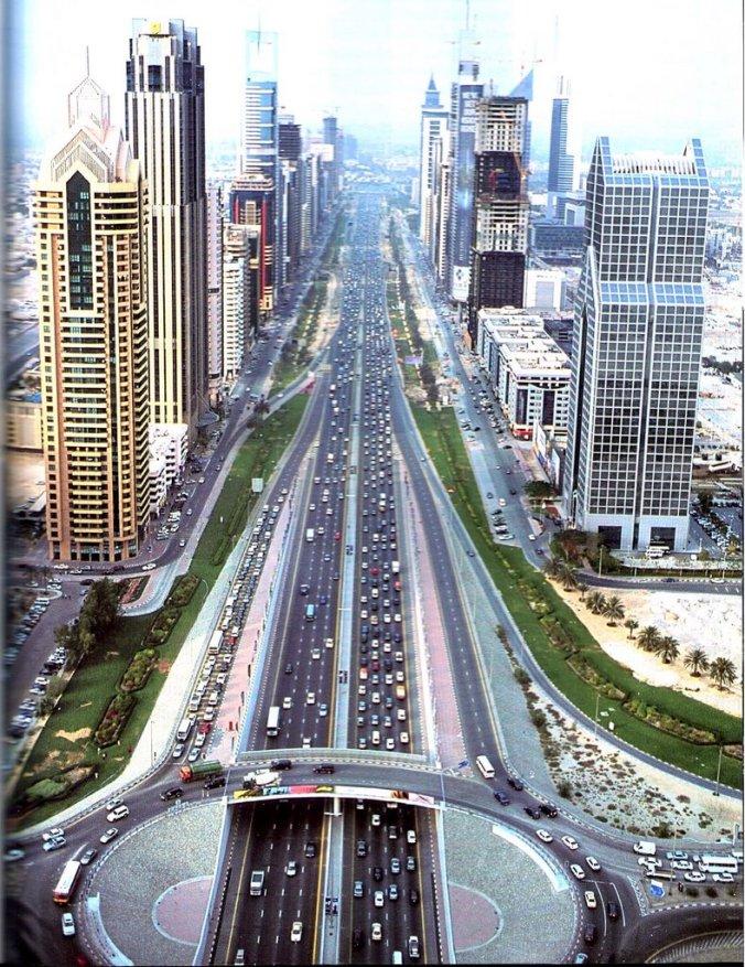 dubai city streets